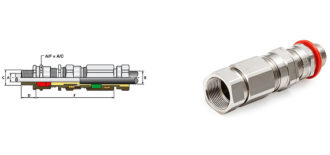"E1FXRF Ex ""d"" Cable Gland"