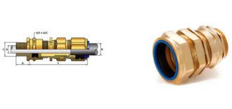 E1X Cable Gland